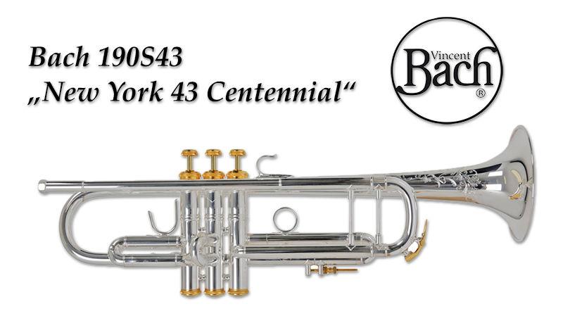 Výroční trubka Bach 190S43